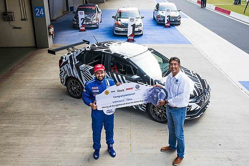 Singh bags Ameo Cup scholarship with triple win