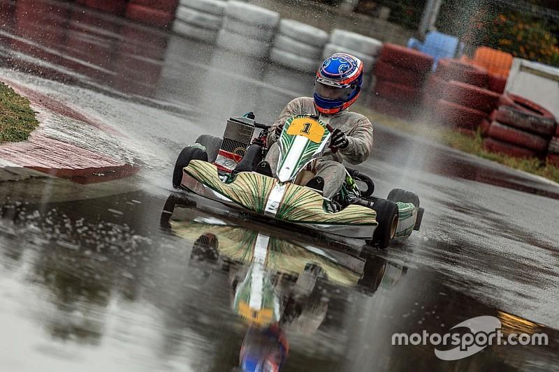 Yağmurda Karting Nefes Kesti