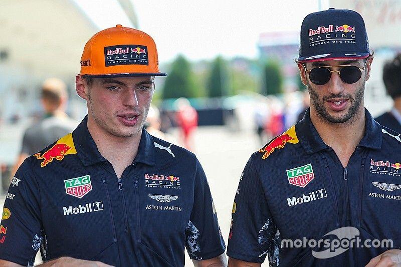 Verstappen tęskni za Ricciardo