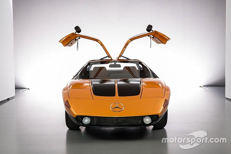 Vous souvenez-vous de la Mercedes C111?
