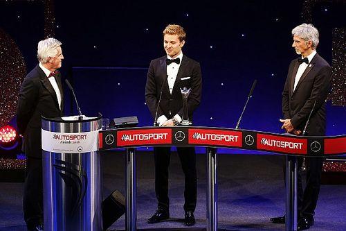 "روزبرغ وهاميلتون يتلقيان أرفع جوائز حفل ""أوتوسبورت"" السنوي"