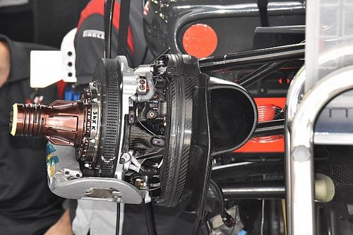 Haas F1 avec des freins Carbone Industrie au GP de Russie