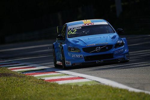 Monza WTCC: Bjork claims Volvo's first pole