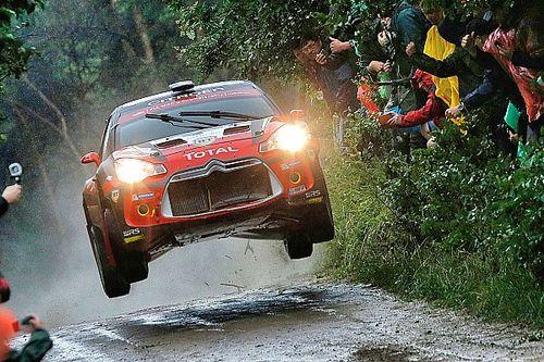 Simone Tempestini al Rally di Germania con una DS3 R5