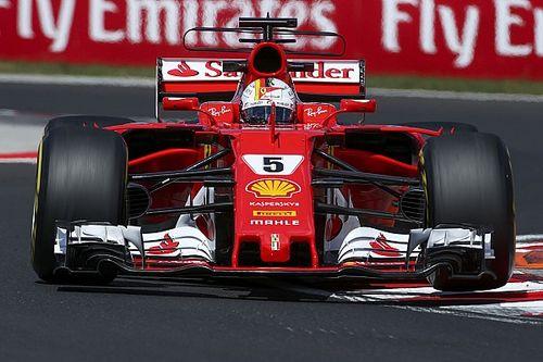 Vettel voló en Hungría antes de la clasificación