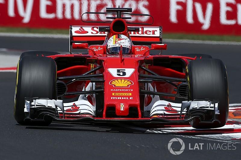 Hungaroring, Libere 3: Vettel svetta e promuove le novità della Ferrari