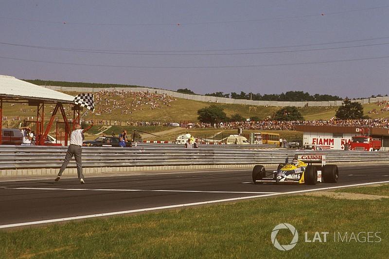 Ezen a napon: Mansell drámája és Piquet győzelme a Hungaroringen