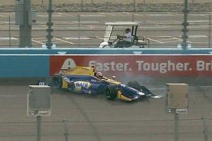 Rossi crashes in Phoenix