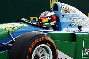 """Mick Schumacher: """"asombrado"""" por el Benetton de su padre"""