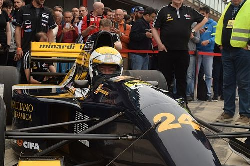 Sfeerimpressie Historic Minardi Day: Gian Carlo Minardi beleeft primeur