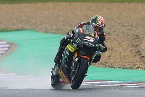 Brno MotoGP: Zarco leads Marquez in wet opening practice