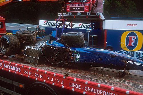 Burti se solidariza com morte de Hubert e relembra acidente em Spa