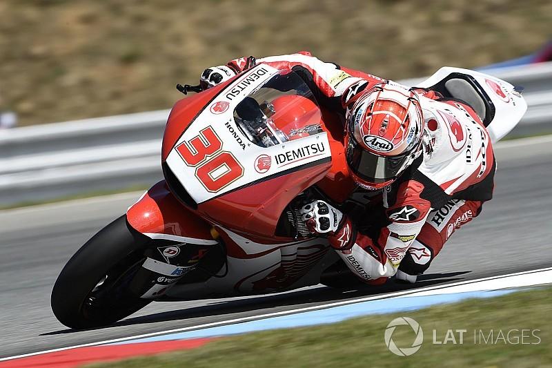 【Moto2】24位の中上「ドライでもウエットでも足踏み状態だった」