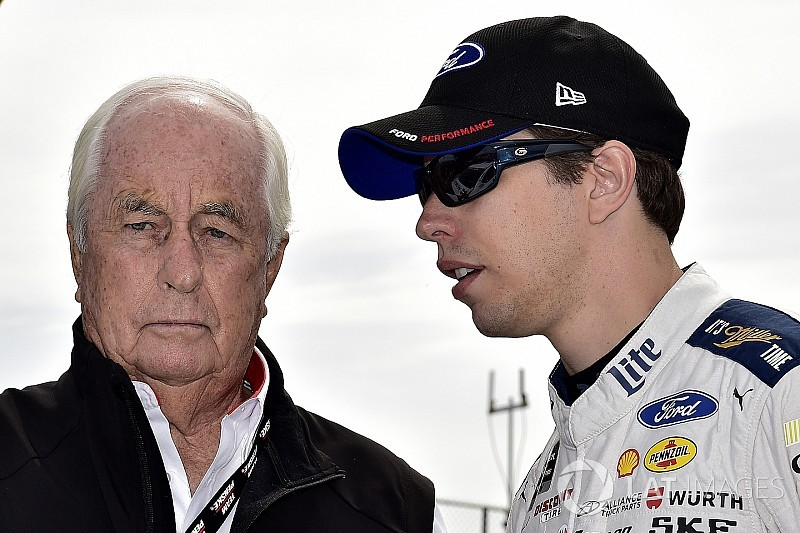 Roger Penske's NASCAR drivers react to his Hall election