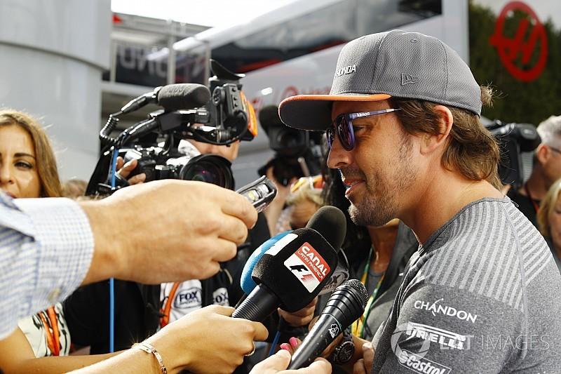 Alonso dice que no ha pensado en su futuro durante las vacaciones