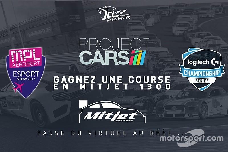 Une course en Mitjet à remporter au Montpellier eSport Show!