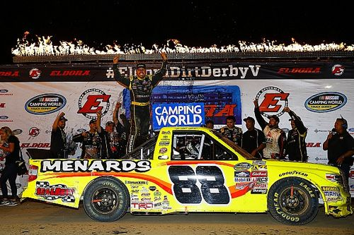 Matt Crafton surprises with first Eldora Truck win