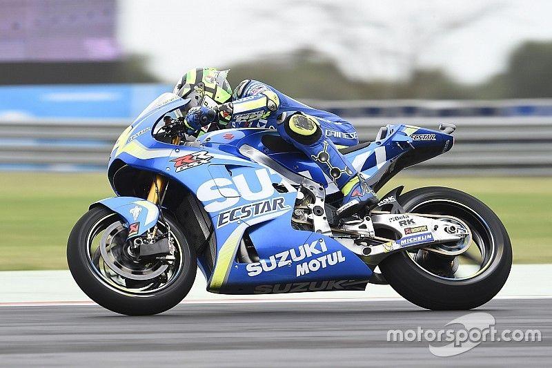 Iannone cree que Suzuki arrastrará todo el año falta de velocidad punta