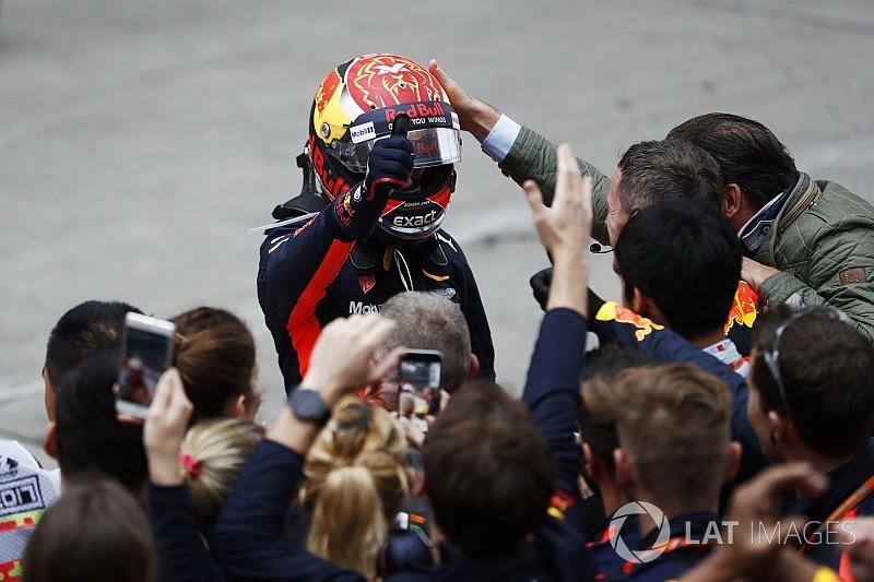 Egy nagyon cuki kép Verstappenről, amikor még távol volt az F1-től