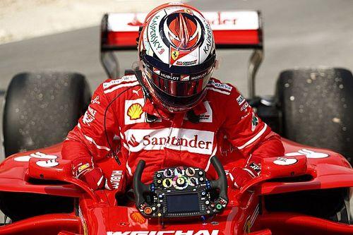 """Kimi elogia i meccanici Ferrari: """"Hanno fatto un ottimo lavoro"""""""