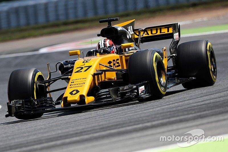 Хюлькенберг списал неудачную для Renault квалификацию на сильный ветер