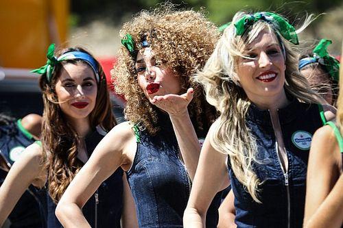 Grid Girls espanholas esquentam clima na F1
