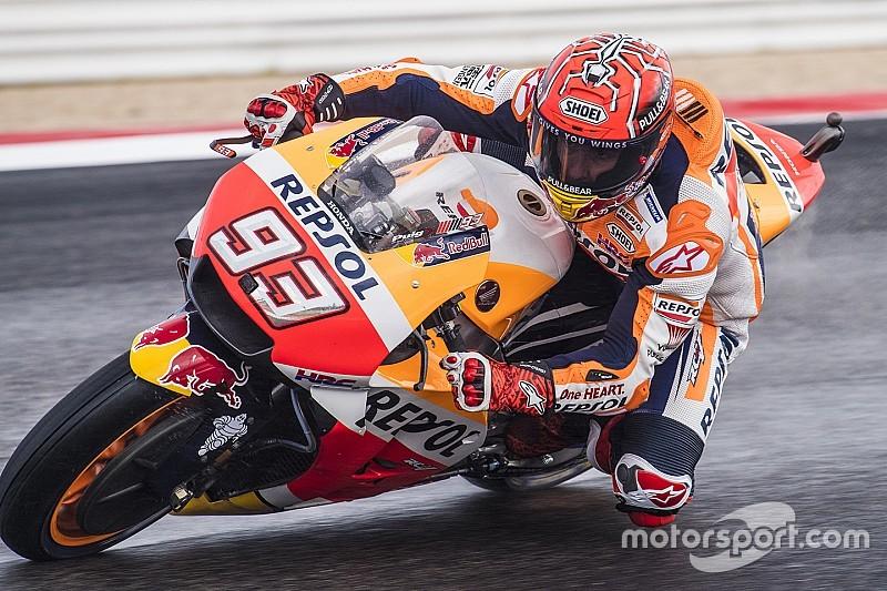 Marc Marquez teleurgesteld in fans Valentino Rossi