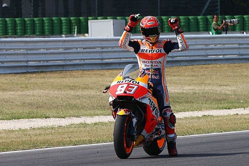 Márquez confía en su ritmo de cara a la carrera en Misano