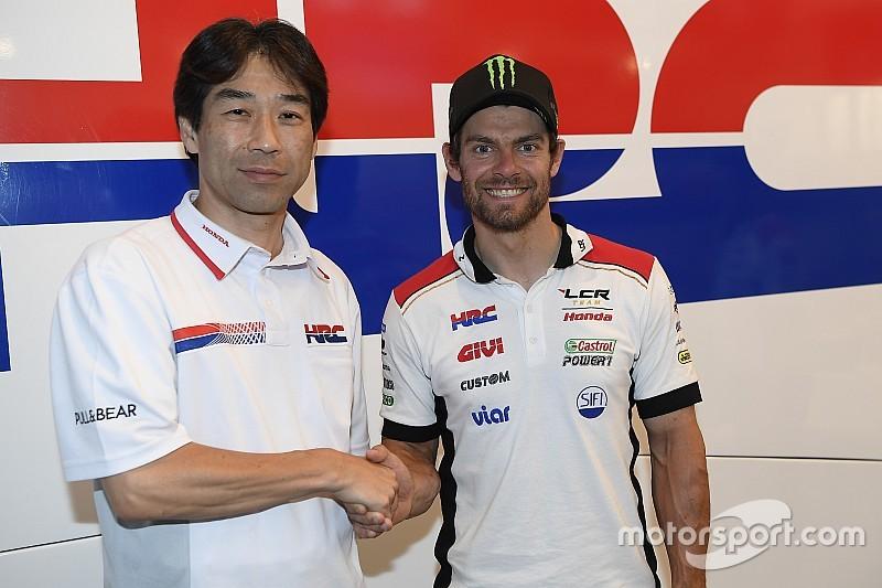 LCR anuncia el acuerdo por dos años entre Crutchlow y Honda