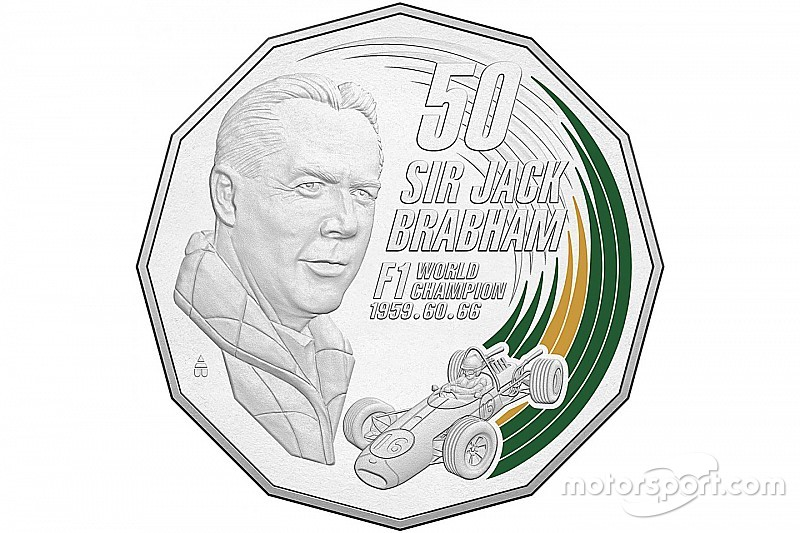 Sir Jack Brabham honoured with Australian coin