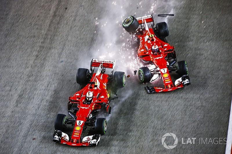 """Villeneuve: """"Vettel può solo darsi la colpa per l'incidente"""""""