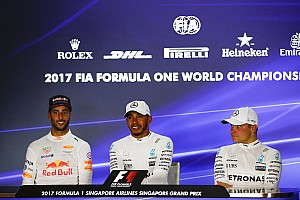 Formula 1 Press conference Singapore GP: Post-race press conference
