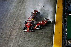 لا عقوبات بعد حوادث الانطلاقة في سباق سنغافورة