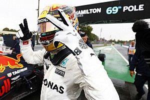 GP Italia: Hamilton rekor total pole, Ferrari tumpul di kandang