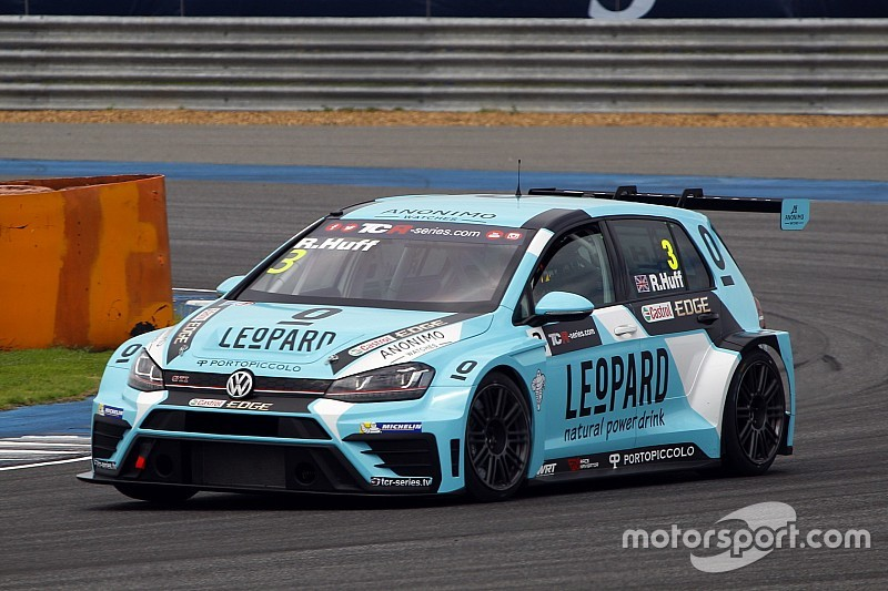 Rob Huff claims pole ahead of teammate Vernay