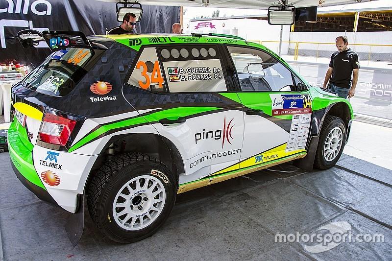 Benito Guerra al Rally di Germania con il team Motorsport Italia