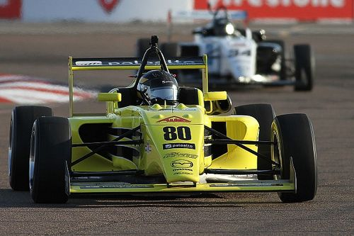 St Pete USF2000: Megennis, Thompson earn poles