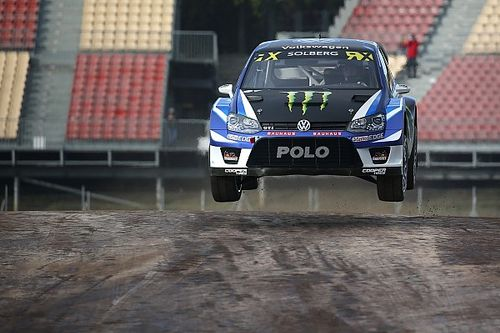 Portugal WRX: Solberg leads Ekstrom after qualifying
