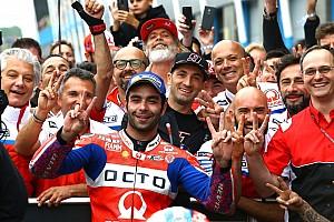 """MotoGP Noticias Petrucci: """"Era más rápido que Rossi, pero me molestaron los doblados"""""""