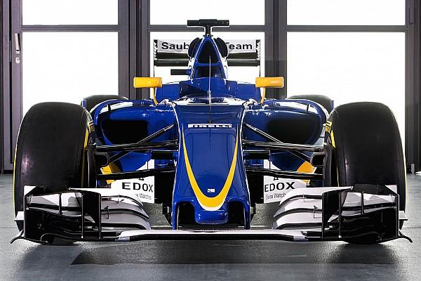 Sauber präsentiert C35-Ferrari für die Formel-1-Saison 2016
