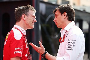 Formula 1 Breaking news Allison moving closer to future with Mercedes