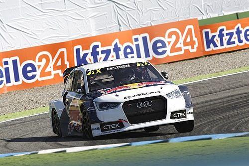 Hockenheim WRX: Ekstrom retains lead as Loeb recovers