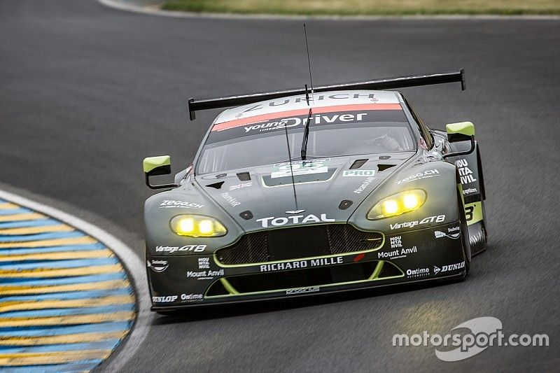 Young Driver AMR starts well prepared into 24 hours Le Man
