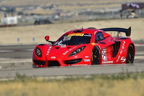 Heckert dominates World Challenge GTS at Utah