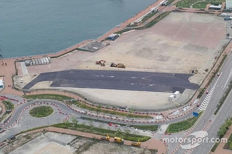 A Hong Kong la corsia dei box è già stata completata!