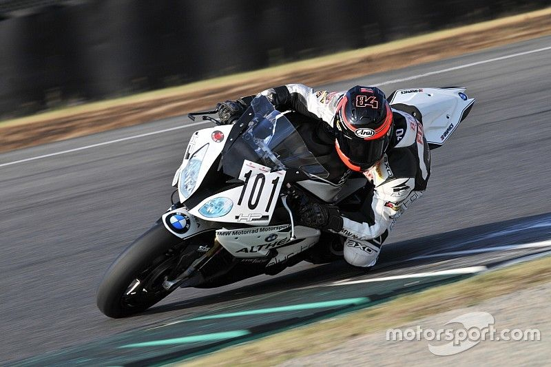 """Fabrizio al Mugello con una BMW S1000: """"Ho intenzione di tornare a correre"""""""