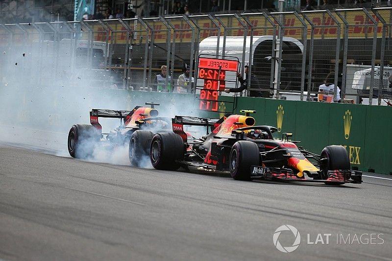 Baku crash suggests Red Bull favours Verstappen