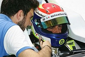 Davide Uboldi in forse per la prima stagionale per i postumi del crash nei test