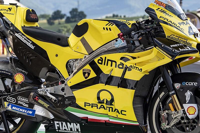Lamborghini festést kapott Pramac Ducati az Olasz Nagydíjra