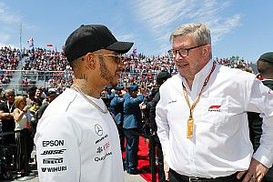 "Brawn ""can't wait"" to work with Hamilton on future F1 rules"
